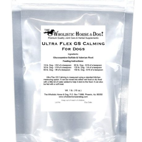 WHD Ultra Flex GS Calming For Dogs Bag CR75