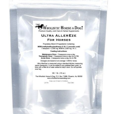 WHD Ultra AllerEze For Horses Bag CR75